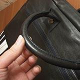 Как отремонтировать ручку у сумки из кожзама