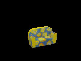 Изделия из искусственной кожи Детский диван