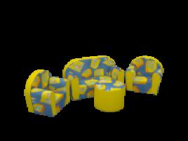 Изделия из искусственной кожи Детский набор мебели