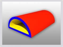 Изделия из искусственной кожи Игрушка тоннель