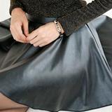 Как стирать юбку из искусственной кожи?