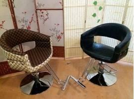 Перетяжка парикмахерских кресел