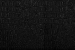 Чёрный кожзам ALIBOA