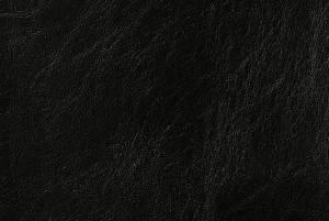 Чёрный кожзам RUVER