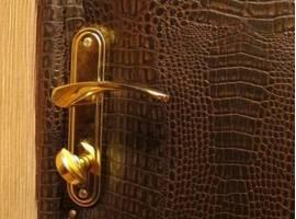 Обивка деревянных дверей