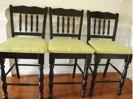 Обивка деревянных стульев