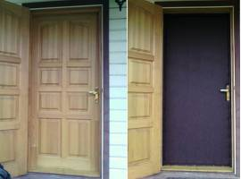 Обивка входной двери